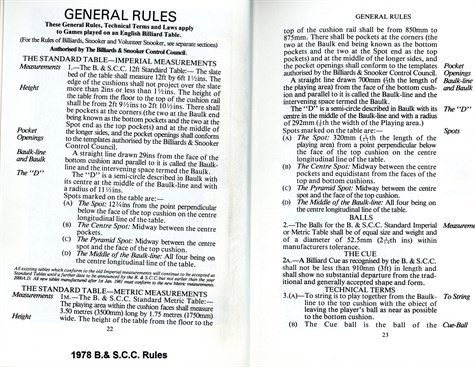 BSCC1978 rules