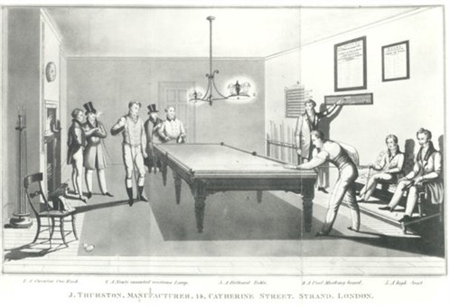 Billiard Maces & Cues Thurston Match Room