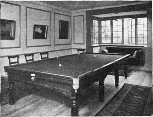 EarlyThurston Billiard Table
