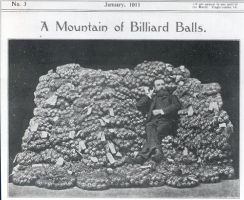 Imported Ivory Billaird Balls