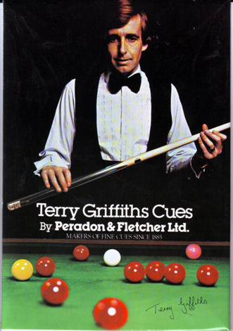 Terry Griffiths Snooker player