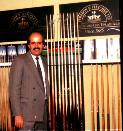 Willie Thorne Professional Snooker player