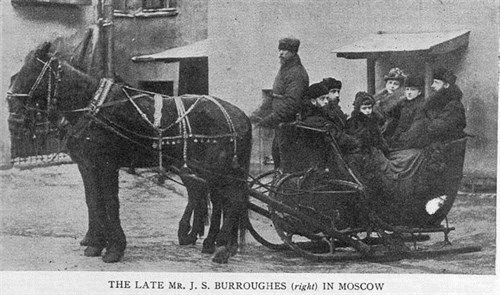 J.S. Burroughes in Moscow