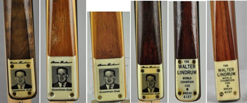 Professional Billiard Cues