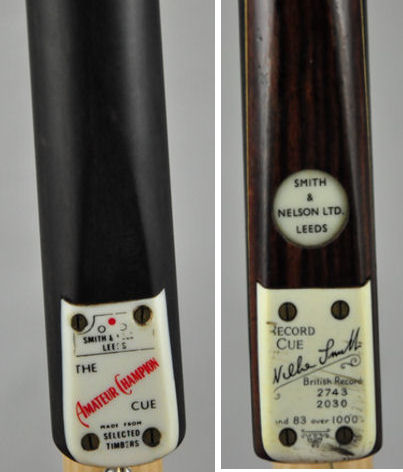 Smith & Nelson Snooker Cues