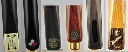 Other snooker cue makers