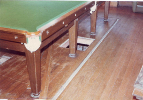 Billiard Table by C.F.A . Voysey