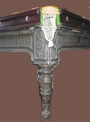 Billiard Table Cast iron leg